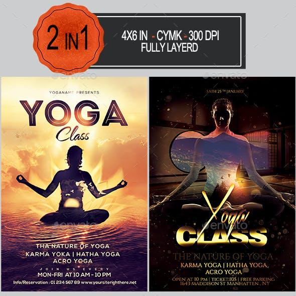 Yoga Flyer Bundle