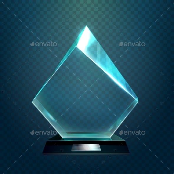 Hexadecimal or Rhombus Sport Victory Cup, Trophy