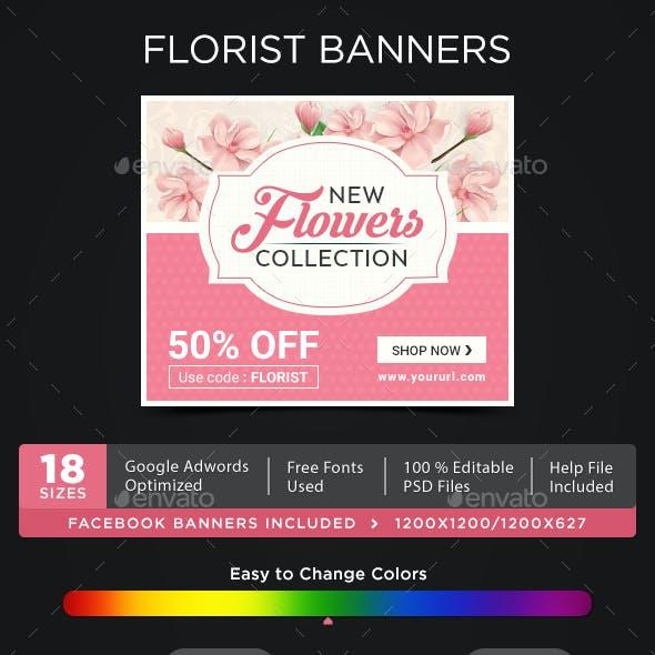 Florist Banners