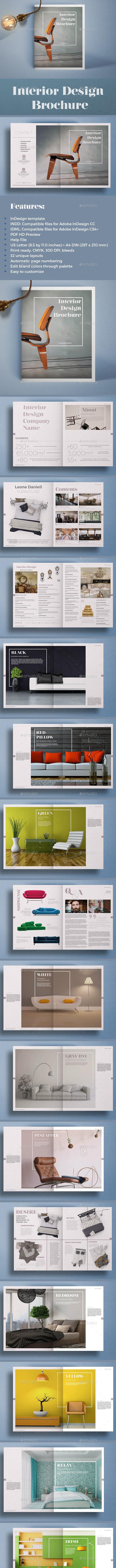 Interior Design Brochure - Catalogs Brochures