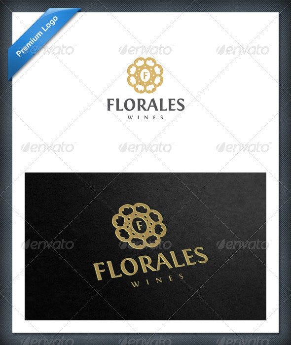 Flower and Plant Logo Template - Crests Logo Templates