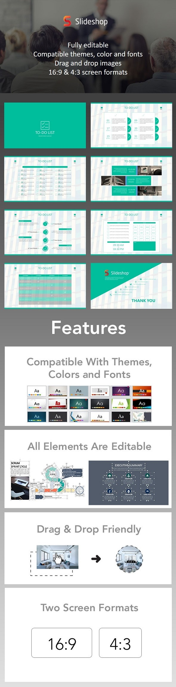 To-Do List - PowerPoint Templates Presentation Templates