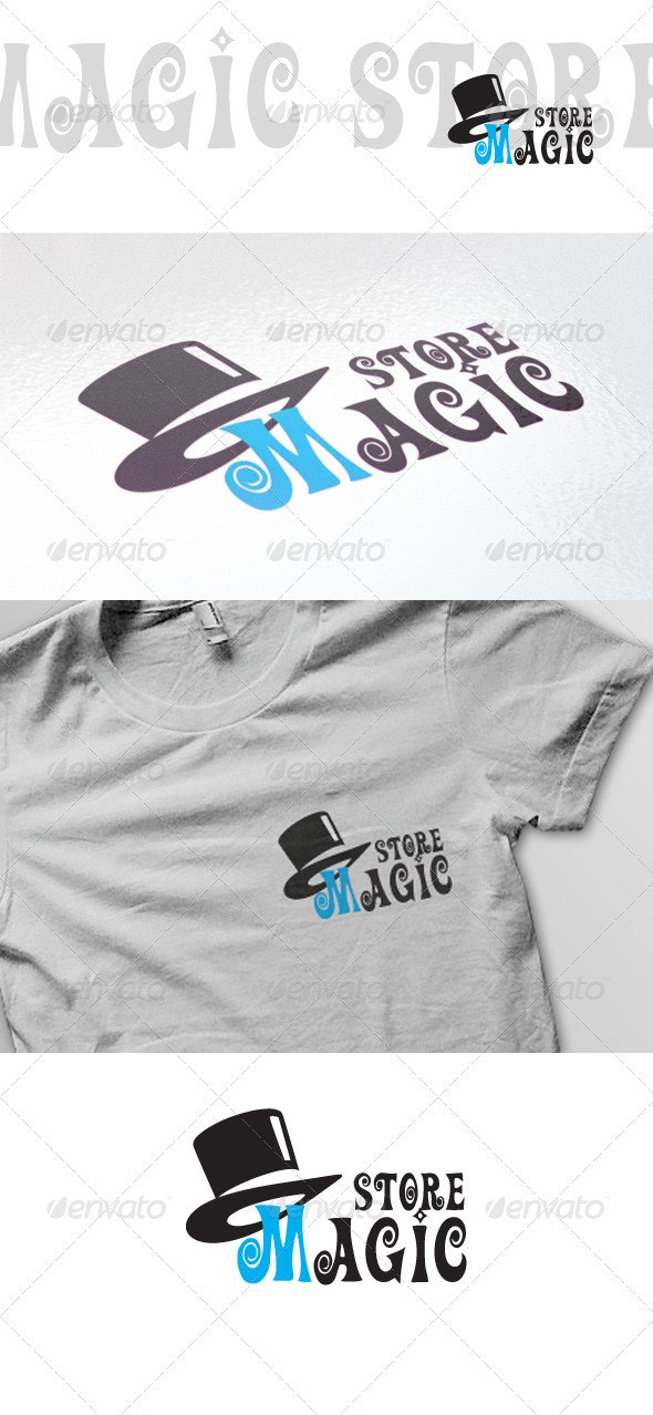Magic Store Logo Template - Vector Abstract