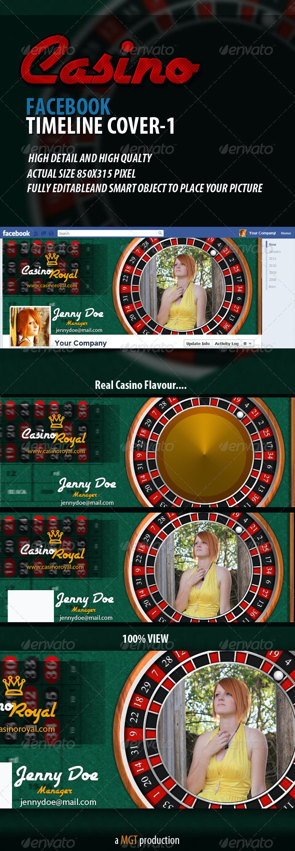 Casino Facebook Timeline Cover - 1 - Facebook Timeline Covers Social Media