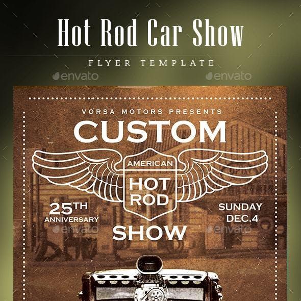 Hot Rod Car Show