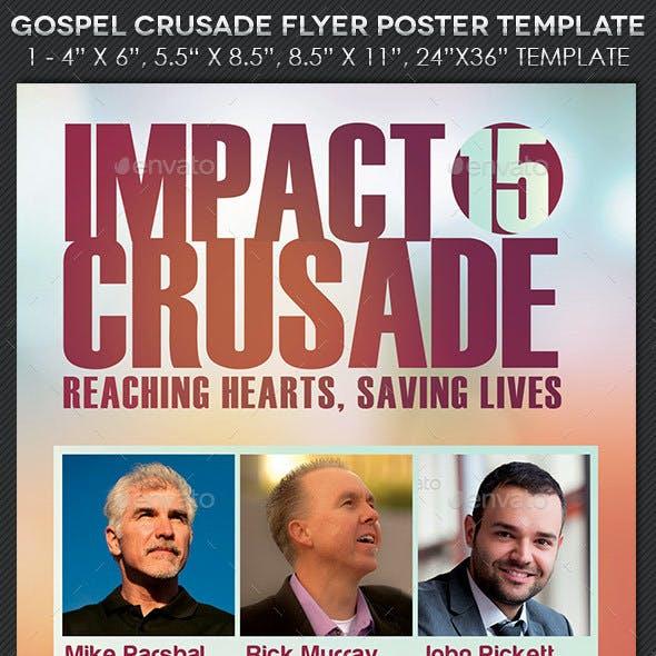 Gospel Crusade Flyer Poster Template