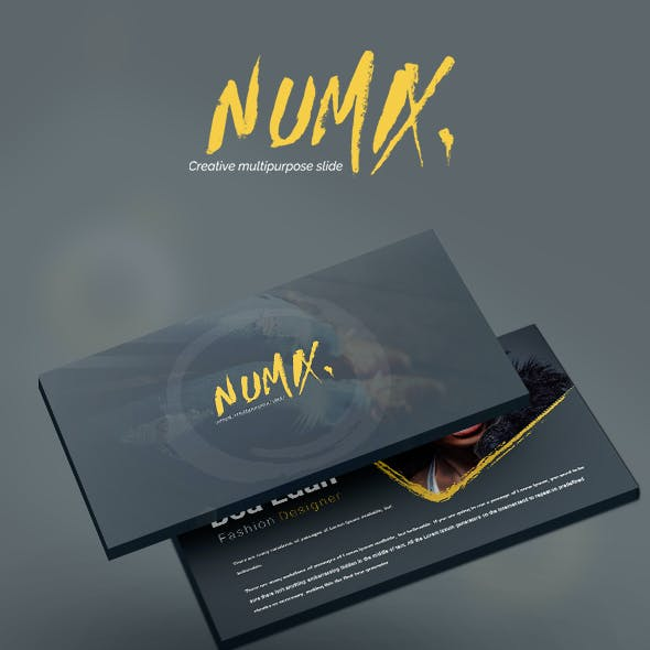 Numix Powerpoint Template