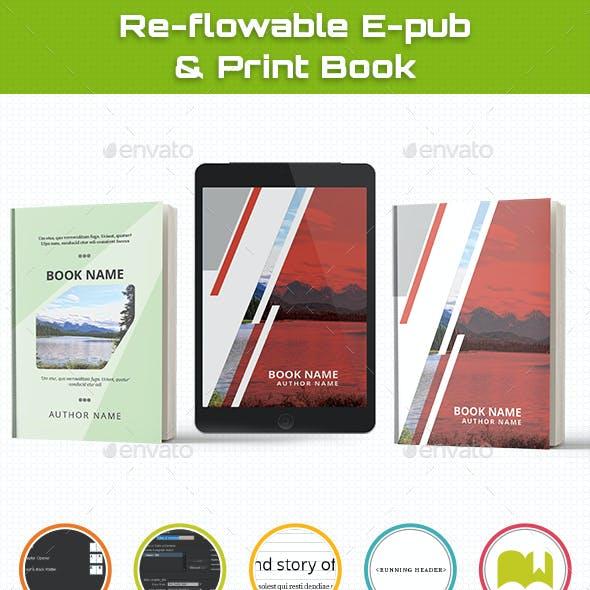 Reflowable Epub & Book Template