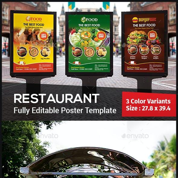 Restaurant Poster