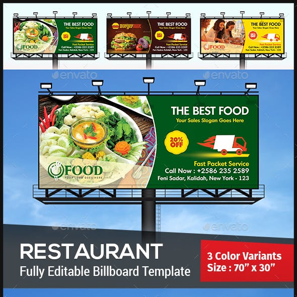 Restaurant Billboard