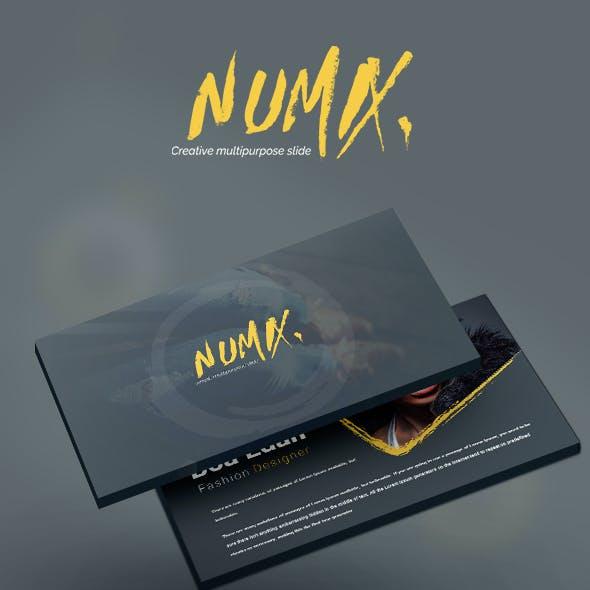 Numix Keynote Template