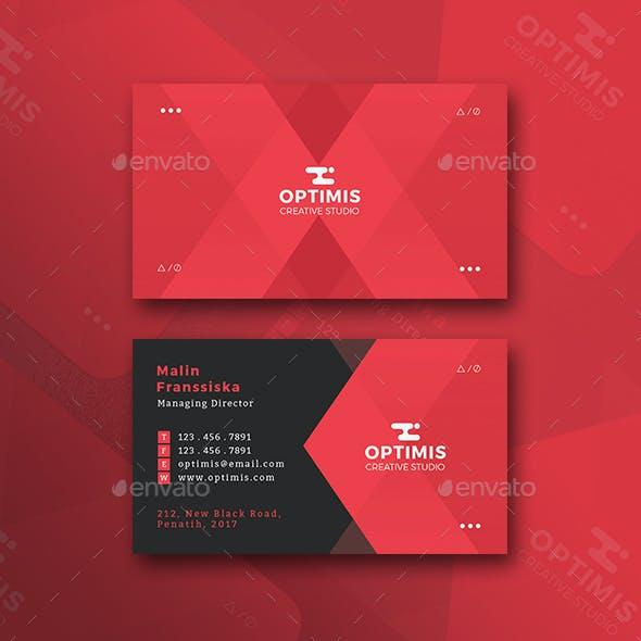 Maknyus Creative Business Card