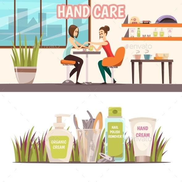 Manicure Banners Set - Business Conceptual