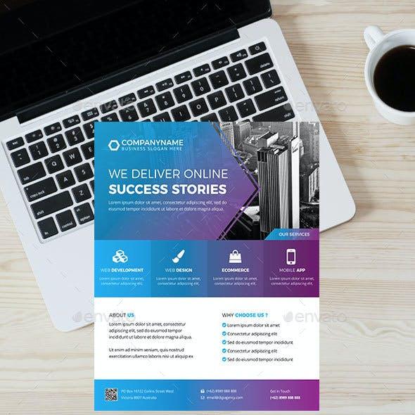 Digital Agency Flyer