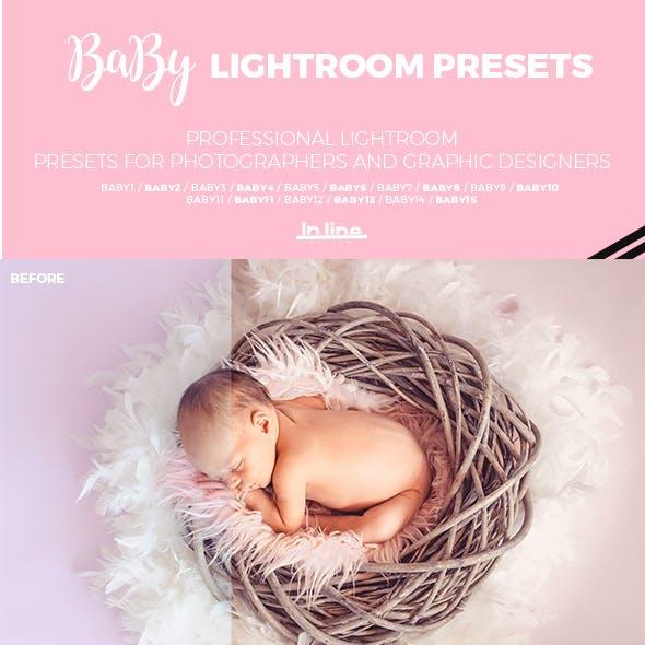 15 Baby Lightroom Presets