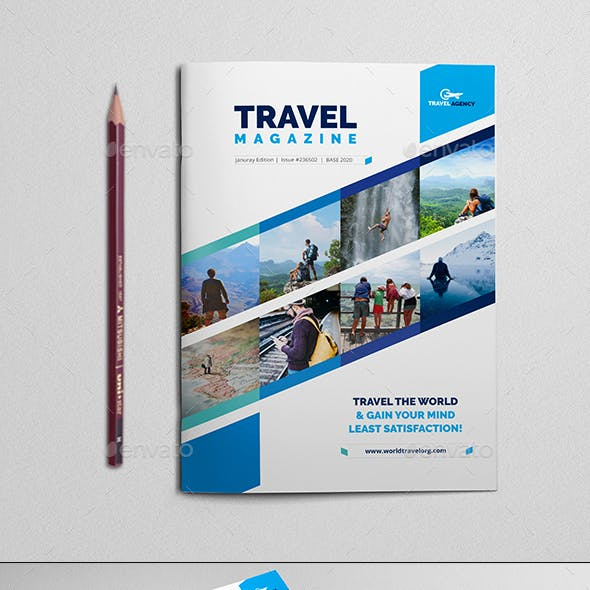 Traveling Magazine / Catalog Template