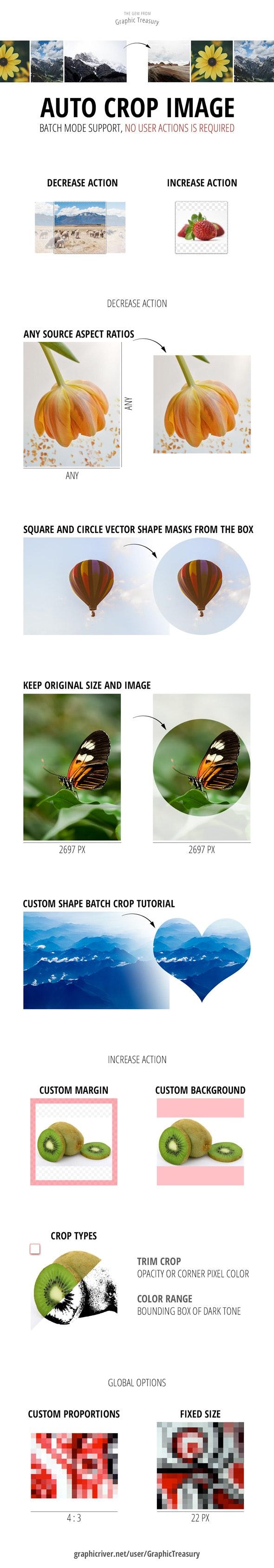 Auto Crop Image - Utilities Actions