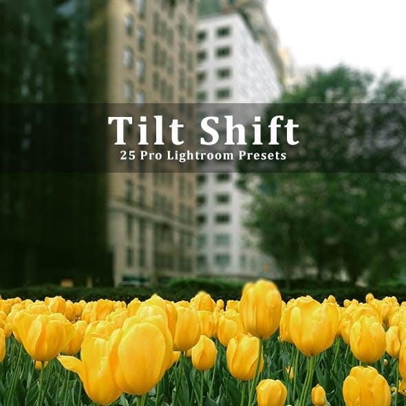 25 Tilt Shift Pro Lightroom Presets