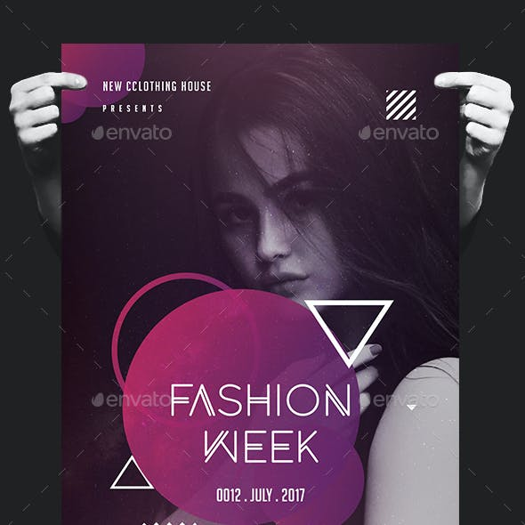 Creative Fashion Show Flyer