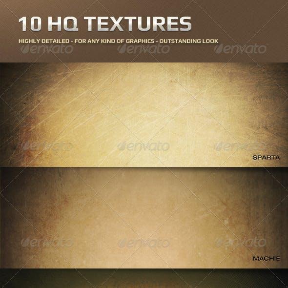 10 HQ Textures