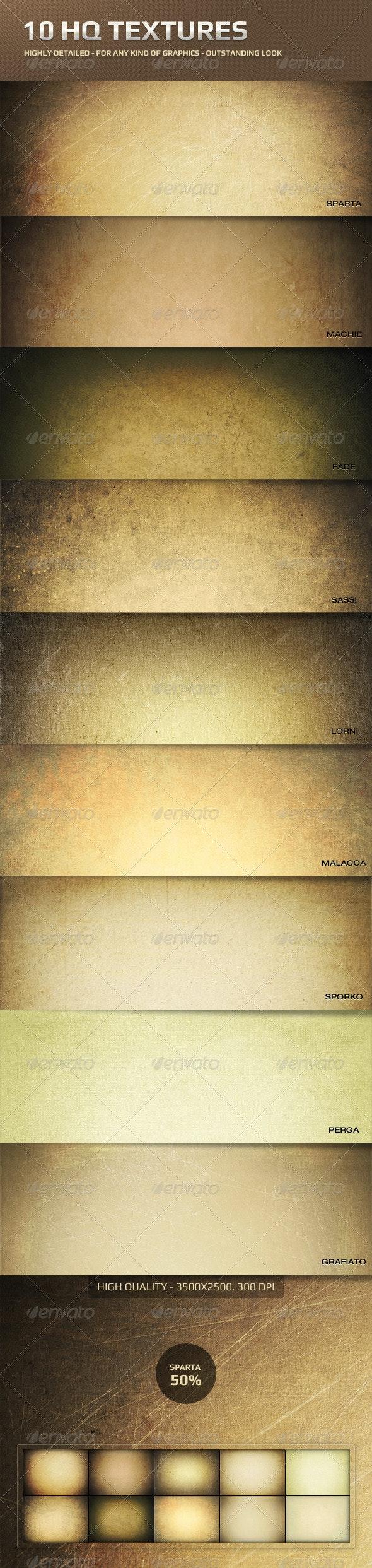 10 HQ Textures - Miscellaneous Textures