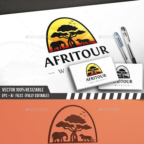 Africa Landscape Logo