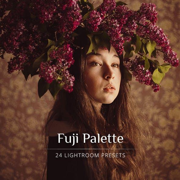 Fuji Palette Lightroom Presets