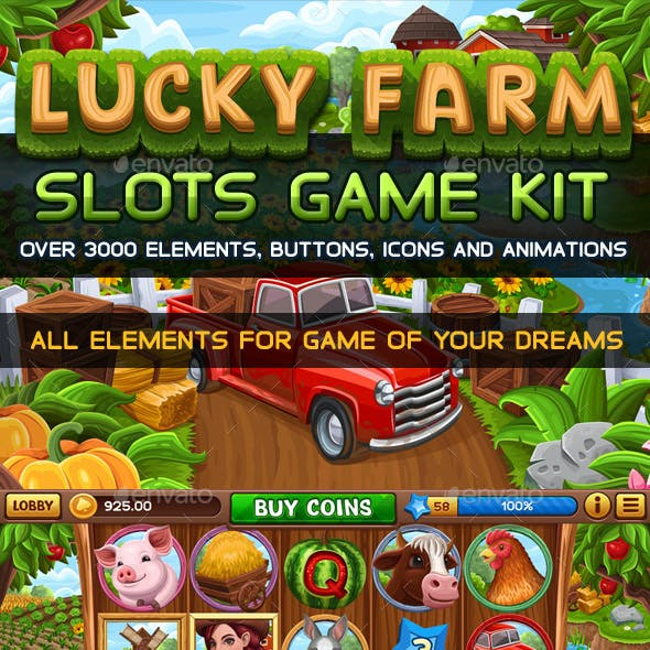 Lucky Farm Slots Game KIT