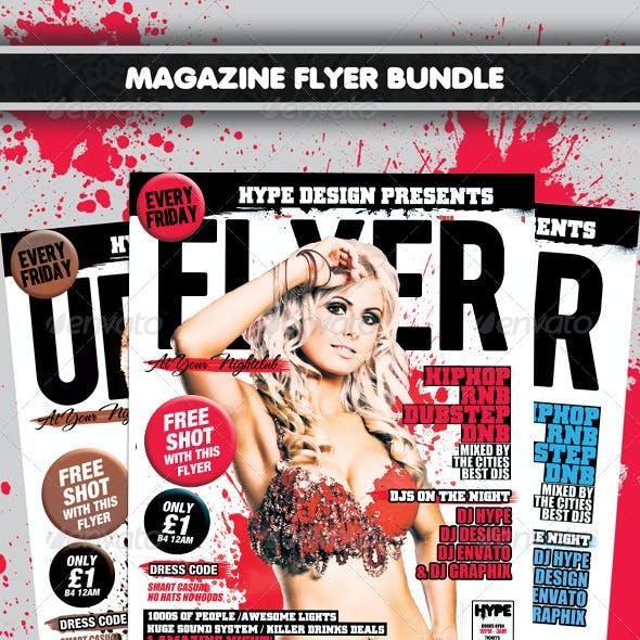 Magazine Flyer Bundle