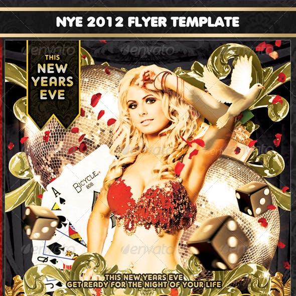 NYE 2012 Flyer Template