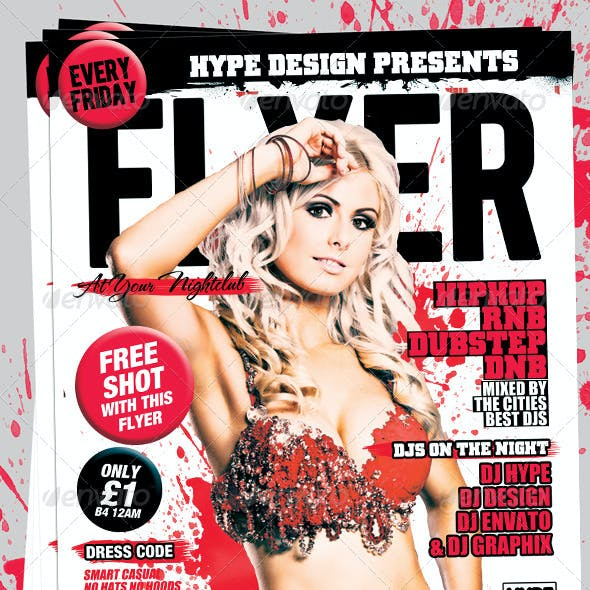Flyer Mag Magazine Style Flyer Template