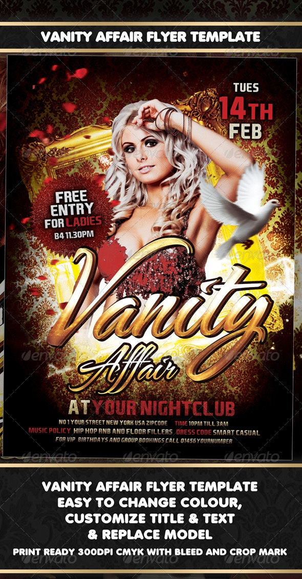 Vanity Affair - Clubs & Parties Events