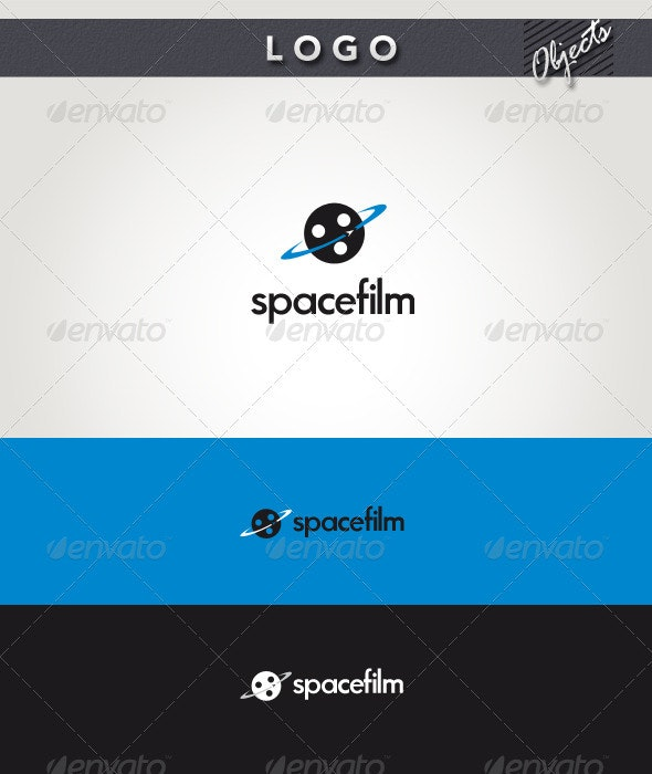 Space Film Logo - Objects Logo Templates