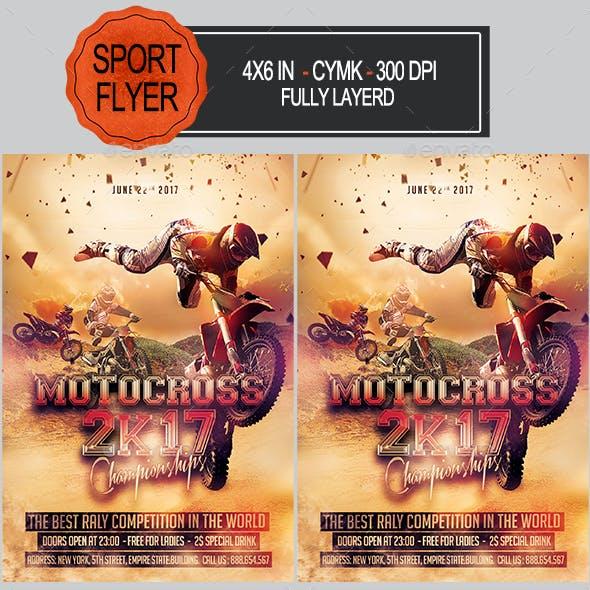 Motocross Flyer