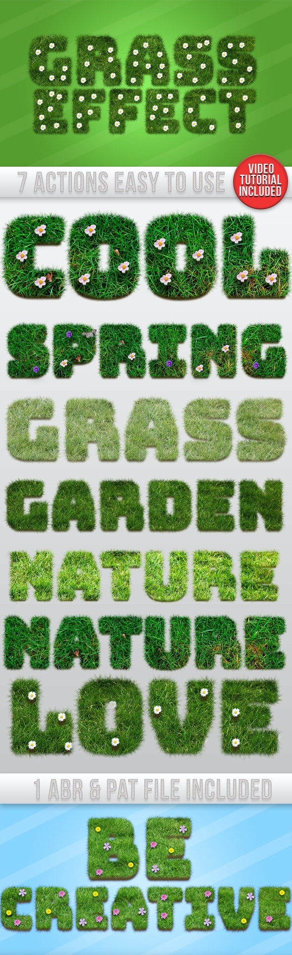 Grass Text Effect Generator - Text Effects Actions