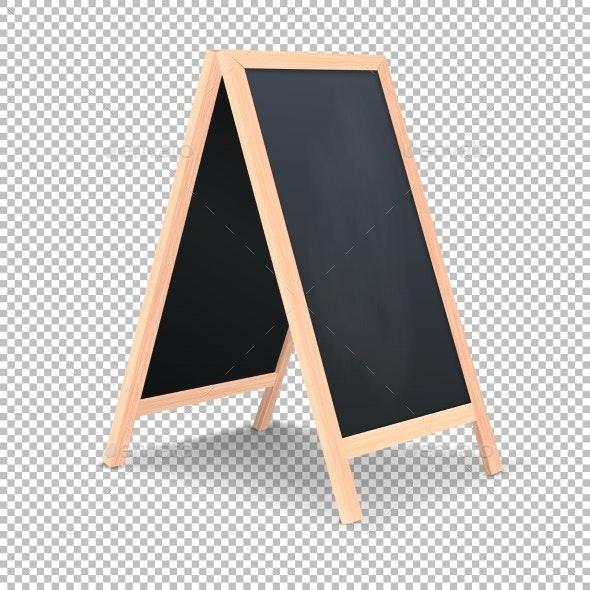 Realistic Special Menu Announcement Board Icon - Miscellaneous Vectors