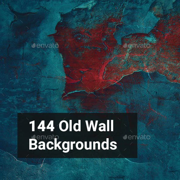144 Old Wall Backgrounds