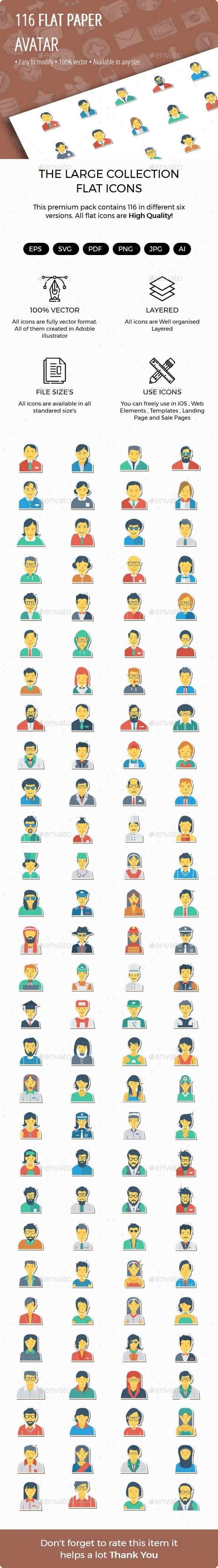 100+ Avatar Sticker icons