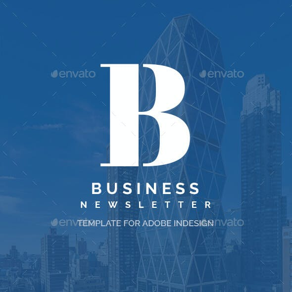 Attractive Business - Newsletter Template