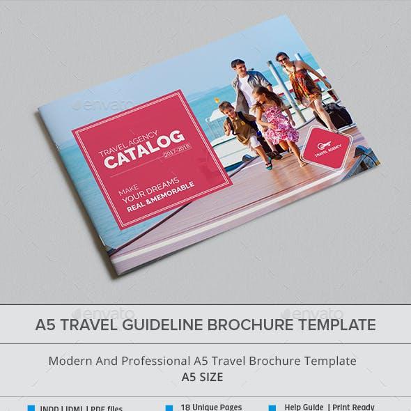 A5 Travel Guideline Brochure / Catalog