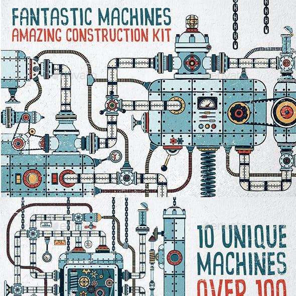 Fantastic Machines Construction Kit