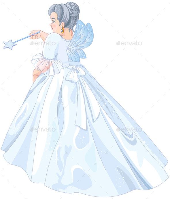 Fairy Godmother - Characters Vectors