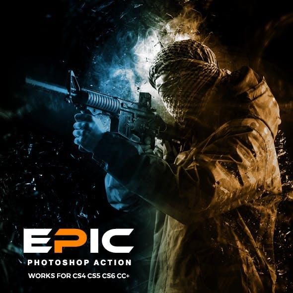 Epic Photoshop Action