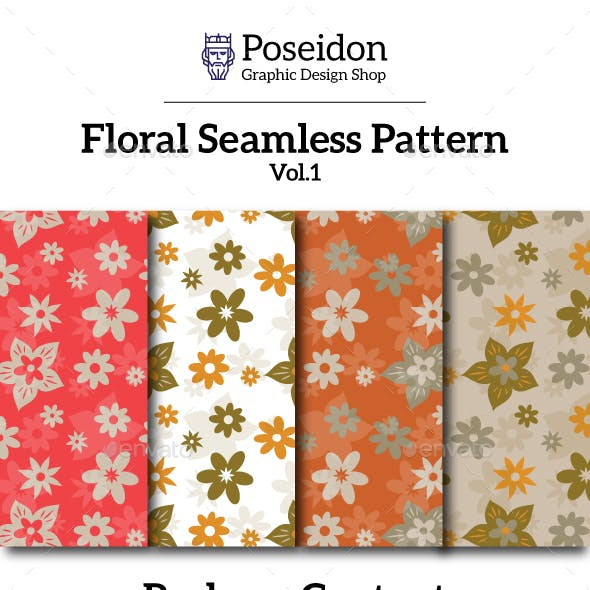 Floral Seamless Pattern Vol.2