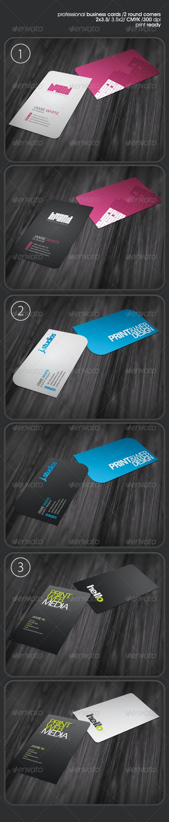 Business Card Bundle 2 - Creative Business Cards
