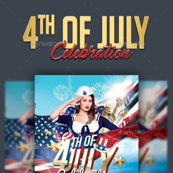 4th Of July Celebration Flyer