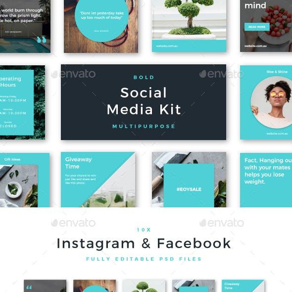 Bold Social Media Kit