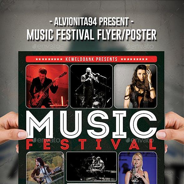 Music Festival Flyer / Poster