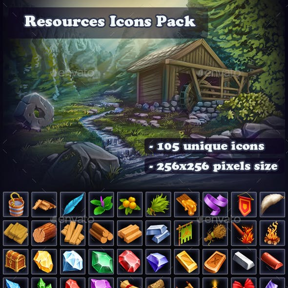 Resources Icon Pack