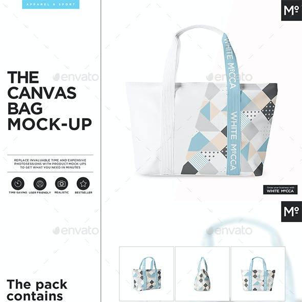 Tha Canvas Bag Mock-up